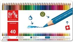 Kleurpotloden Caran d'Ache Fancolor 40stuks assorti