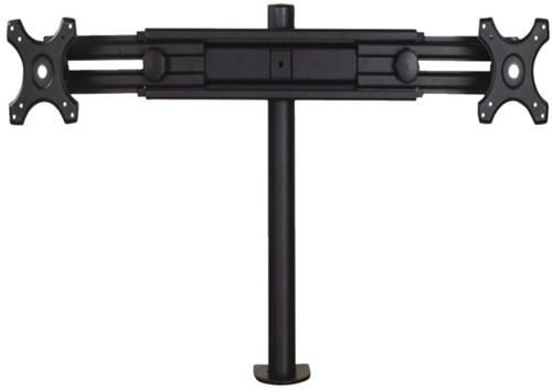 """Monitorarm Newstar D700D 2x19-30"""" met klem zwart-2"""