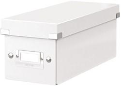 Cd box Leitz Click & Store 127x124x320mm wit
