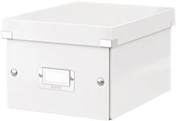Opbergbox Leitz WOW Click & Store 200x148x250mm wit