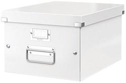 Opbergbox Leitz WOW Click & Store 281x200x370mm wit