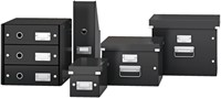 Dvd Box Leitz WOW Click & Store 206x147x352mm wit-3