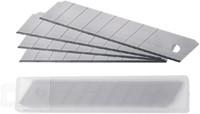 Snijmes Westcott Premium 18mm met metalen geleiding rood-3