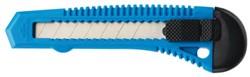 Snijmes Westcott Office 18mm met kunststof houder blauw
