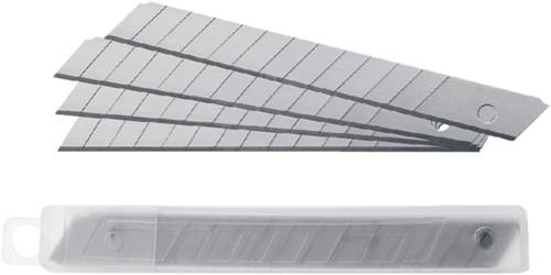 Snijmes Westcott Professional 9mm met schuifsluiting grijs-3