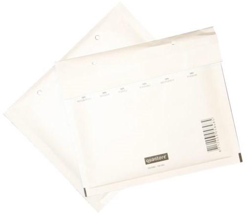 Cd envelop Quantore luchtkussen 175x200mm wit 100stuks-2