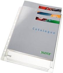 Showtas Leitz 4756 11-gaats PVC 0.17mm glad met expansievouw 1x5 stuks