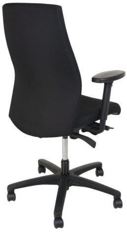 Bureaustoel Euroseats Excellent zwart-2
