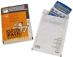 Envelop CleverPack luchtkussen nr14 180x265mm wit 10stuks