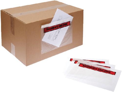 Paklijstenvelop Quantore zelfklevend bedrukt 225x165mm 1000s-2
