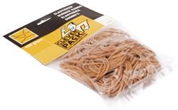 Elastiek CleverPack smal 65mmx1.5mm 100gr bruin