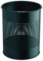 Papierbak Durable 3310-01 15liter 165mm perforatie zwart