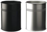 Papierbak Durable 3300-01 15liter 30mm perforatie zwart-2