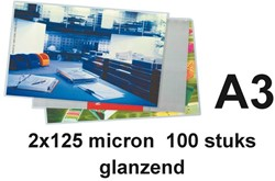 Lamineerhoes budget 2x125 micron  A3