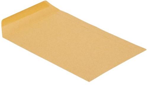 Envelop Clevermail akte C4 229x324mm 90gr bruin 25 stuks-3