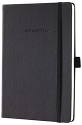 Notitieboek Conceptum CO120 A5 zwart blanco