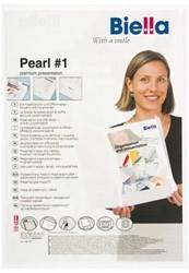 Offertemap pearl 1 + insteektas 2 flappen wit