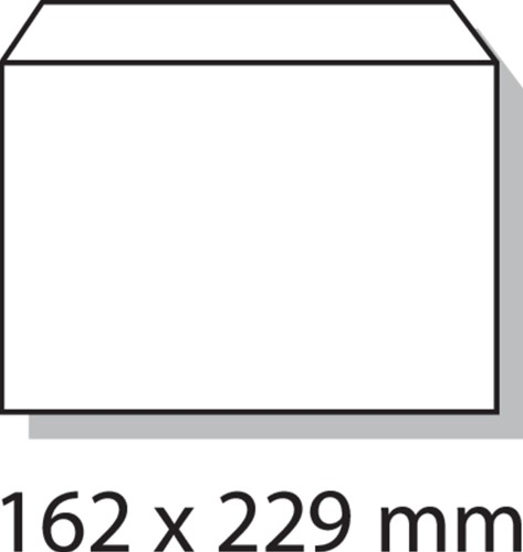 Envelop Quantore bank C5 162x229mm wit 500stuks-3