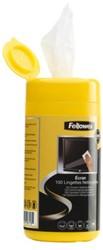 Reiniger Fellowes beeldscherm doekjes dispenser 100stuks