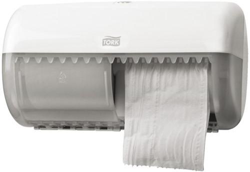 Toiletpapier Tork T4 120261 Advanced 2laags 488vel 4rollen wit-2