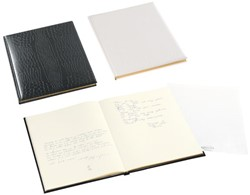 Gastenboek Brepols Belleganza zwart