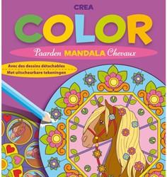 Kleurboek Deltas crea color paarden mandala
