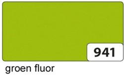 Etalagekarton folia 48x68cm 400gr nr941 fluor groen