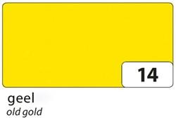 Zijdevloeipapier Folia 50x70cm 20g nr14 geel set à 5vel
