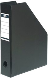 Tijdschriftcassette Elba A4 zwart