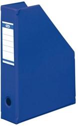Tijdschriftcassette Elba A4 kobaltblauw