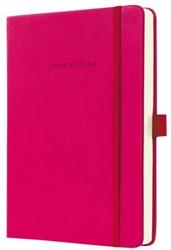 Notitieboek Conceptum CO573 135x203mm roze lijn