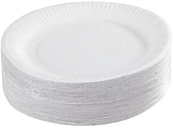 Bord karton 15cm disposable wegwerp 1000 stuks