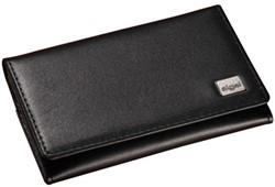 Visitekaartenhouder Sigel Torino VZ220 2x15 kaarten 5vaks zwart