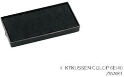 Stempelkussen Colop 6E/40 zwart