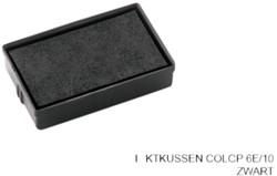Stempelkussen Colop 6E/10 zwart