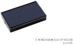 Stempelkussen Colop 6E/200 blauw