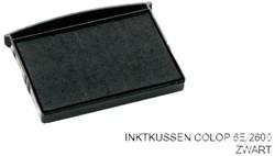 Stempelkussen Colop 6E/2600 zwart