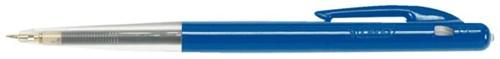 Balpen Bic M10 blauw medium doos 90+10 gratis-3
