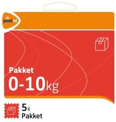 Pakketzegel standaard pakket zelfklevend 0-10 kg