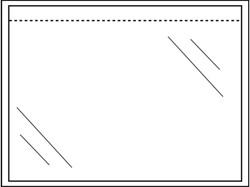 Paklijstenvelop Quantore zelfklevend blanco 165x115mm 1000st