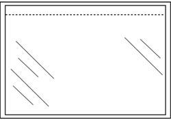 Paklijstenvelop Quantore zelfklevend blanco 225x160mm 1000st