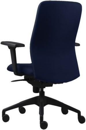 Bureaustoel Euroseats Vigo blauw-2