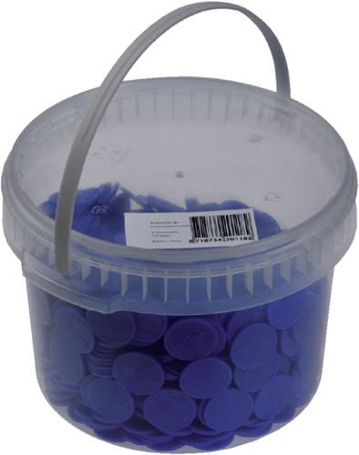 Consumptiemunt Combicraft blauw-3