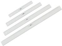 Liniaal M+R 1140 400mm plastic transparant-2