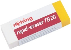 Gum Rotring TB20 potlood/inkt 65x23x10mm