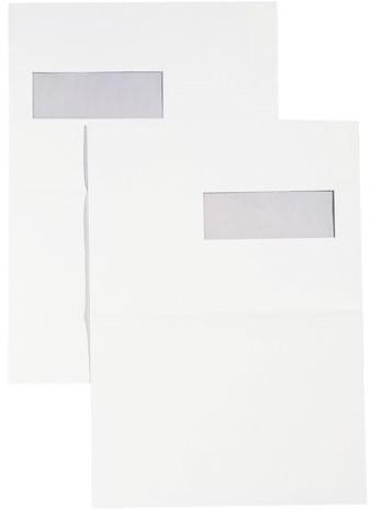 Envelop Hermes akte C4 229x324mm venster 4x11links 250stuks-3