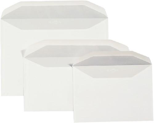 Envelop Quantore bank EA5/6 110x220mm zelfklevend wit 25stuk-2