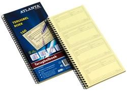 Terugbelboek Atlanta 74x128mm 160x2stuks