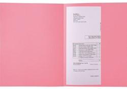 Dossiermap Exacompta Super 160gr 1klep roze