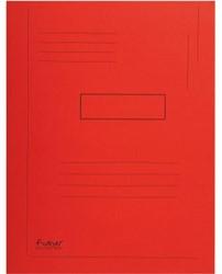 Dossiermap Exacompta Forever A4 2 kleppen 290gr rood